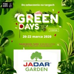Green Days - Targi Ogrodnictwa i Architektury Krajobrazu
