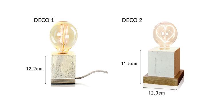 lampka deco wymiary